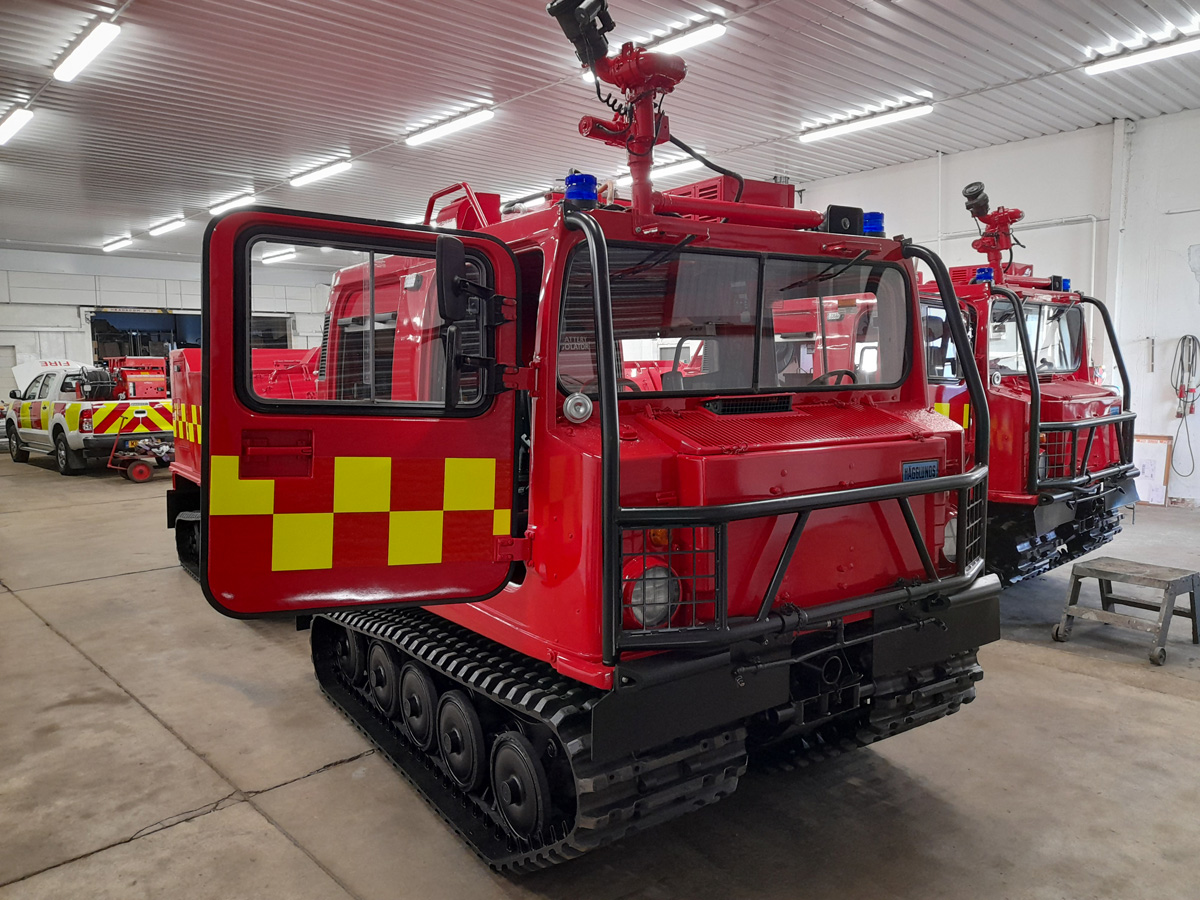 Evems.com - Fire Engines For Sale - Hagglunds BV206