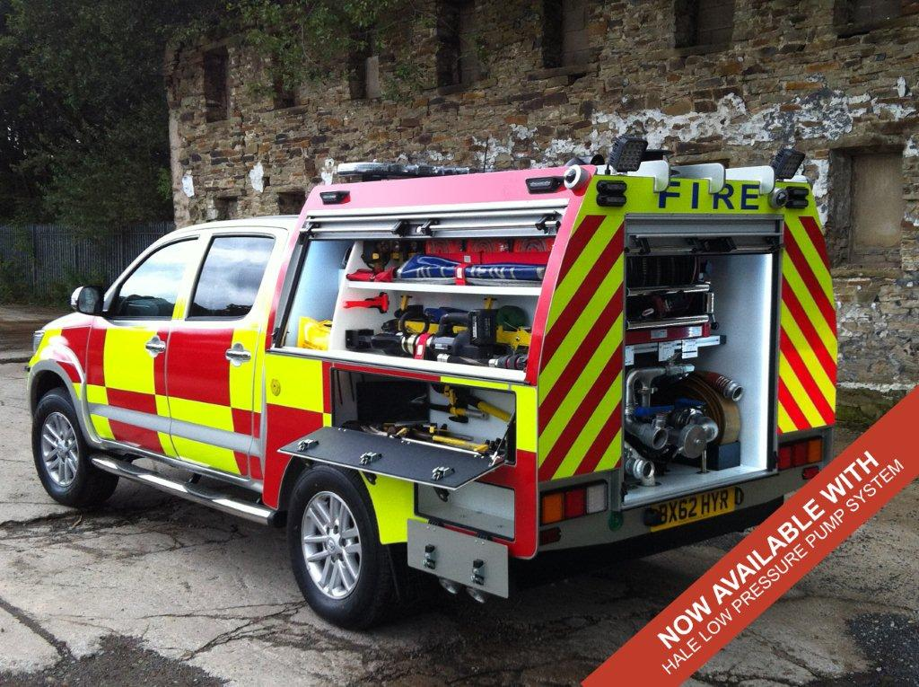 Evems.com - Fire Engines For Sale - Toyota Hilux BRV270