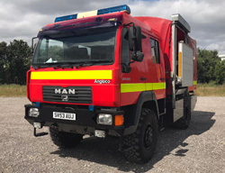 Evems.com - Fire Engines for Sale - <a href='/index.php/special-builds/212-m-a-n-4x4-crew-cab-hose-layer' title='Read more...' class='joodb_titletink'>M.A.N 4x4 Crew Cab Hose Layer</a>