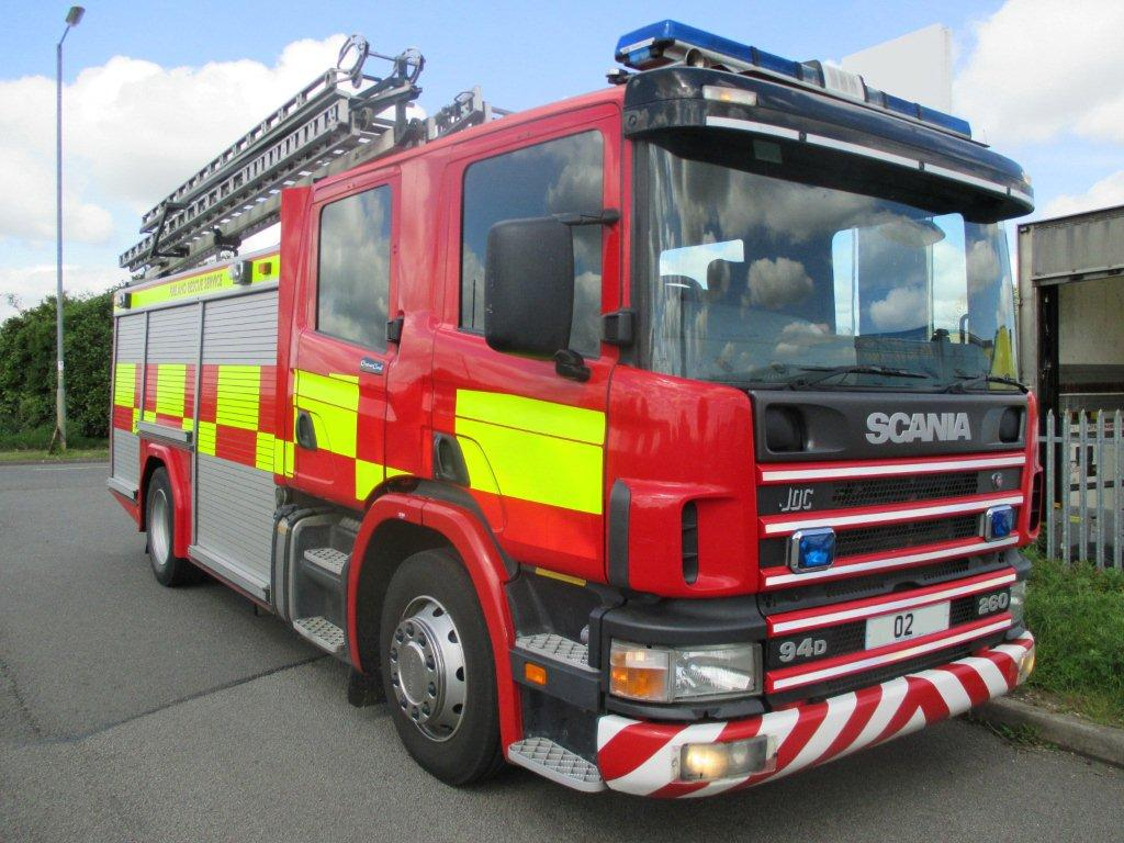 Evems.com - Fire Engines For Sale - Type B - Water Rescue Ladders